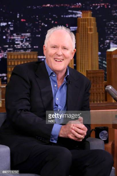 Actor John Lithgow during an interview on June 5 2017