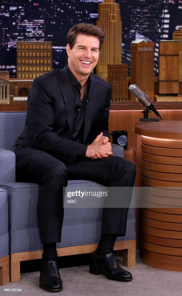 "NBC's ""Tonight Show Starring Jimmy Fallon"" With Guests Tom Cruise, Kate Mara, Bleachers, Sit-in: Mike McCready"