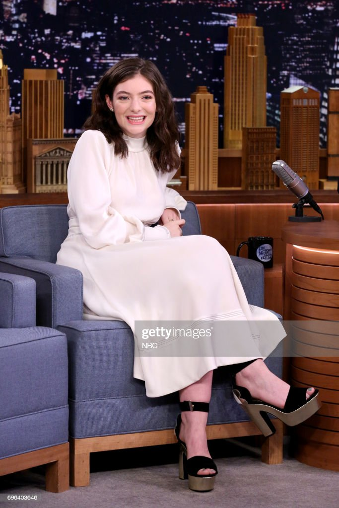 "NBC's ""Tonight Show Starring Jimmy Fallon"" With Guest Ethan Hawke, Lorde"