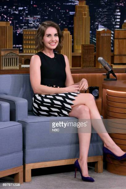 Actor Alison Brie during an interview on June 19 2017