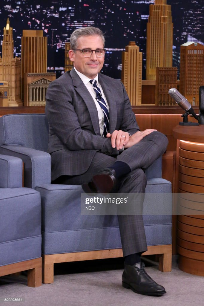 Comedian Steve Carell during an interview on June 27, 2017 --