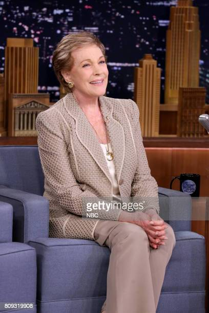 Singer/Actor Julie Andrews during an interview on June 30 2017