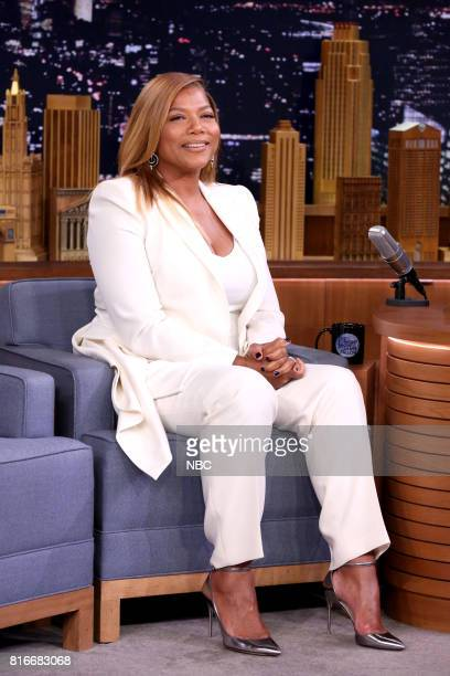 Actress/Comedian Queen Latifah during an interview on July 17 2017
