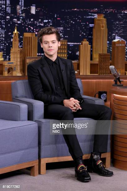 Singer/Actor Harry Styles during an interview on July 19 2017