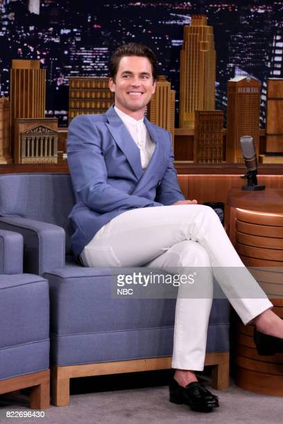 Actor Matt Bomer during an interview on July 25 2017