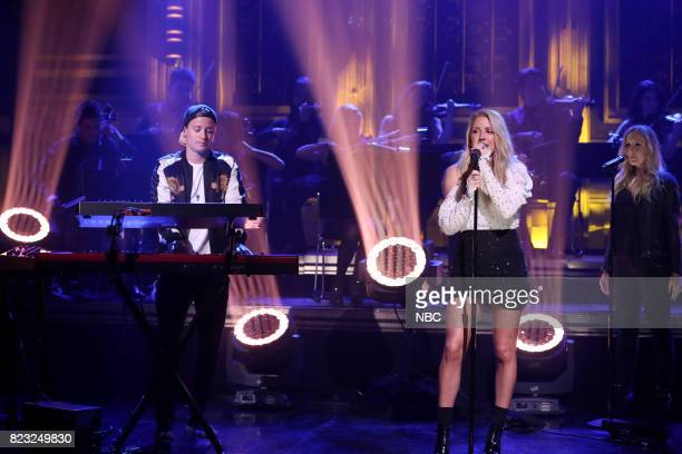 Musical Guests Kygo and Ellie Goulding perform First Time on July 26 2017