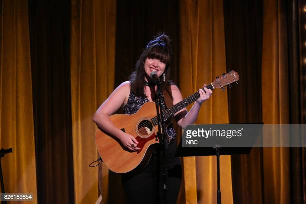 Caitlin Mahoney during 'Battle of the Instant Songwriters' on August 3 2017