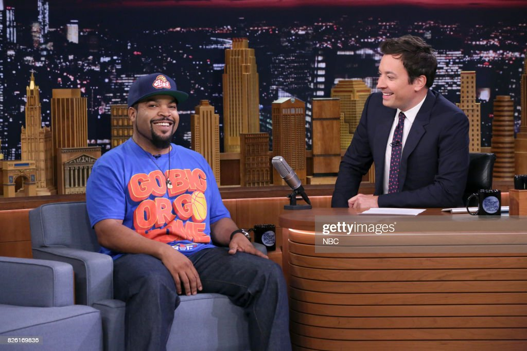 "NBC's ""Tonight Show Starring Jimmy Fallon"" With Guests Ice Cube, Ryan Seacrest, Lil Yachty"