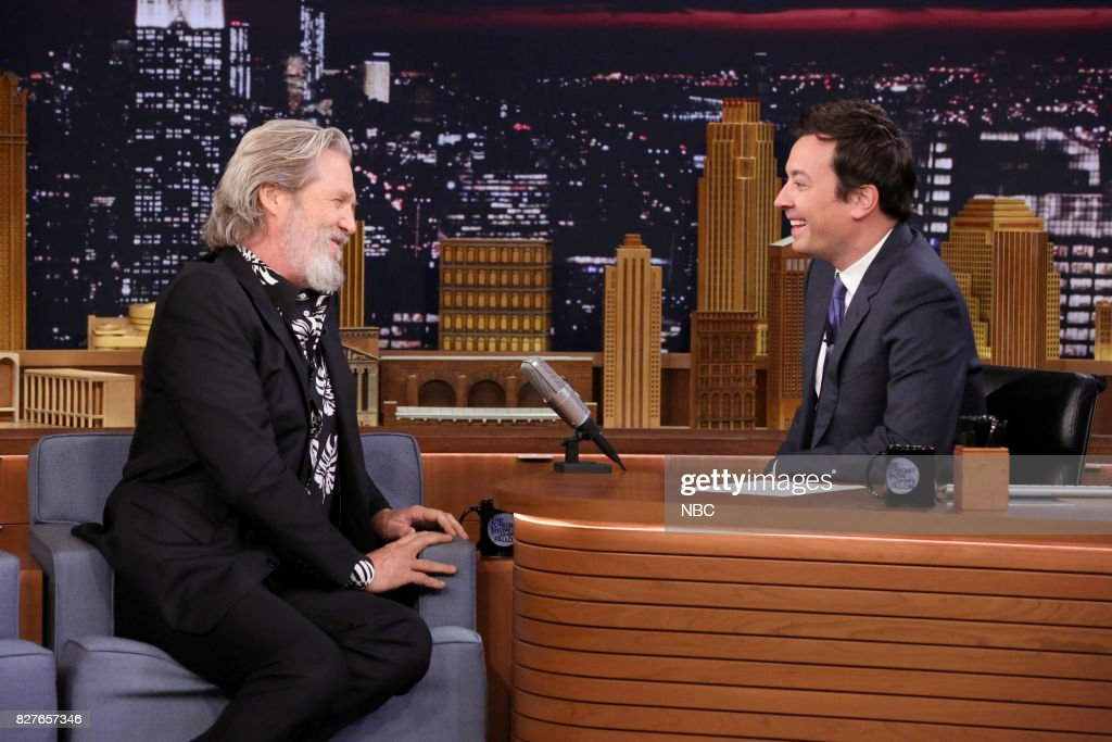 "NBC's ""Tonight Show Starring Jimmy Fallon"" With Guests Jeff Bridges, Aubrey Plaza, The Roots and Bilal"