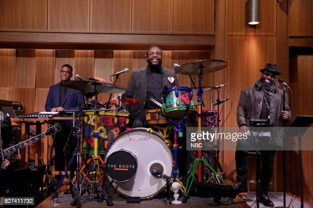 Stro Elliot Ahmir 'Questlove' Thompson Tariq Black Thought Trotter of The Roots on August 7 2017