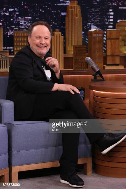Actor Billy Crystal during an interview on August 8 2017