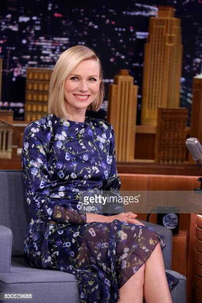 Actress Naomi Watts during an interview on August 11 2017