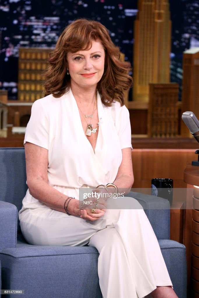 "NBC's ""Tonight Show Starring Jimmy Fallon"" With Guests Susan Sarandon, Riz Ahmed, Chord Overstreet"