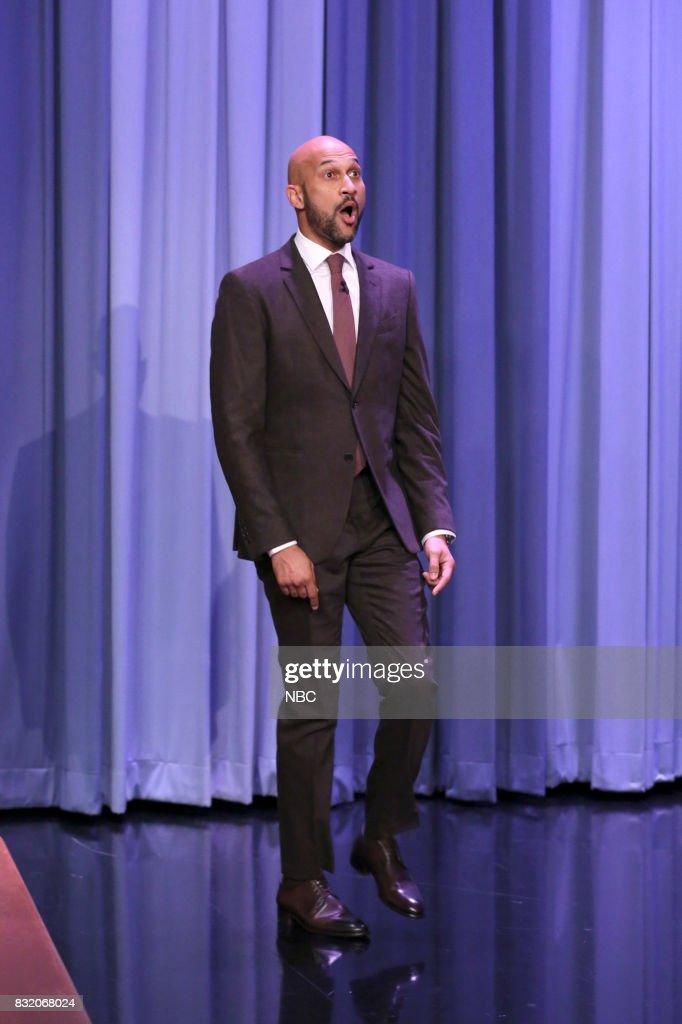 Actor Keegan-Michael Key arrives on August 15, 2017 --