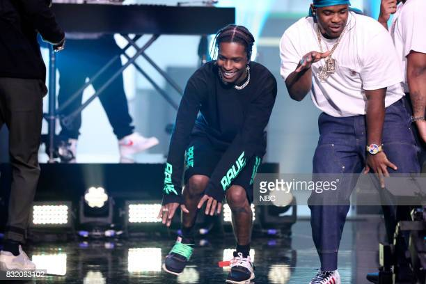 Musical guest A$AP Mob performs on August 15 2017