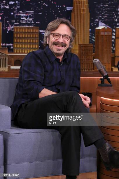 Author/Comedian Marc Maron during an interview on August 16 2017