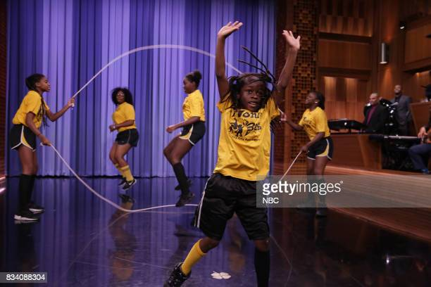 The New Jersey Honey Bees perform during 'Suggestion Box' on August 17 2017