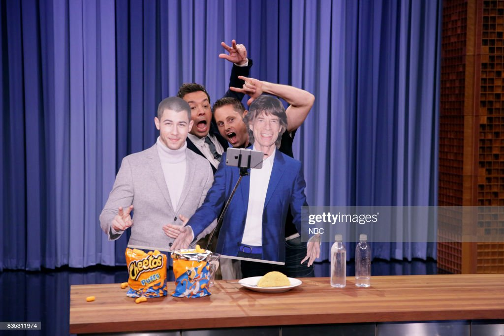 Life Hacks Expert Grant Thompson with Host Jimmy Fallon on August 18, 2017 --