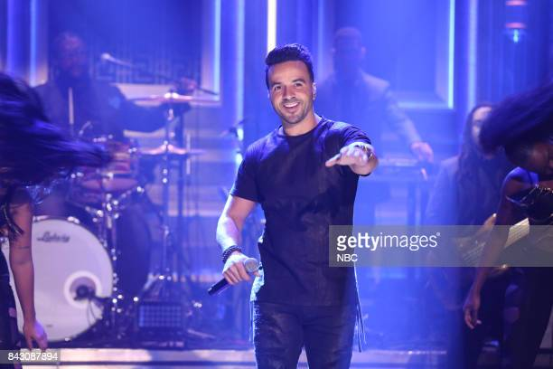 Luis Fonsi performs 'Despacito' on September 5 2017