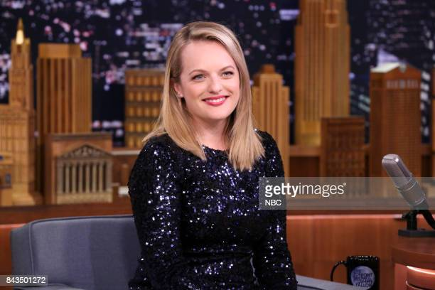 Actress Elisabeth Moss during an interview on September 6 2017