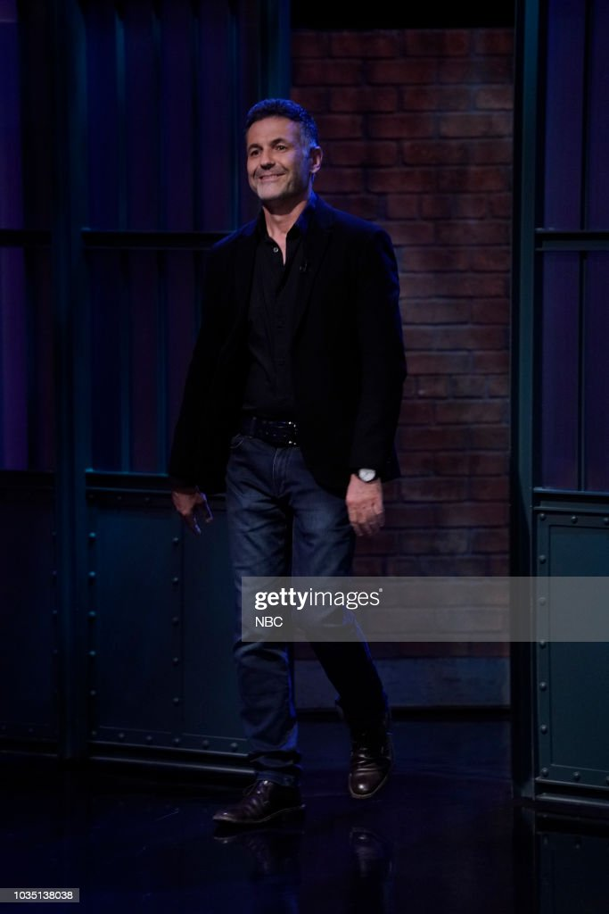 "NBC'S ""Late Night With Seth Meyers"" With Guests Julianne Moore, Sturgill Simpson, Khaled Hosseini"