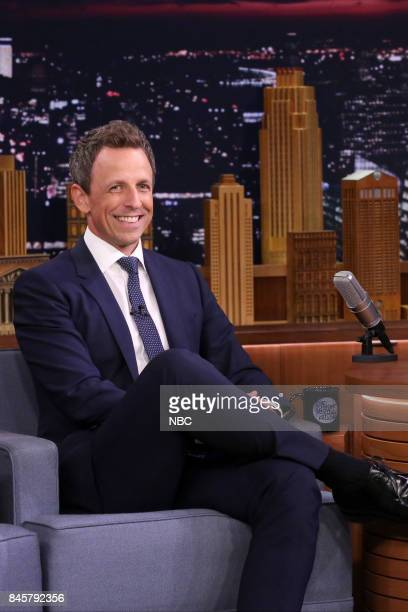 Comedian Seth Meyers on September 11 2017