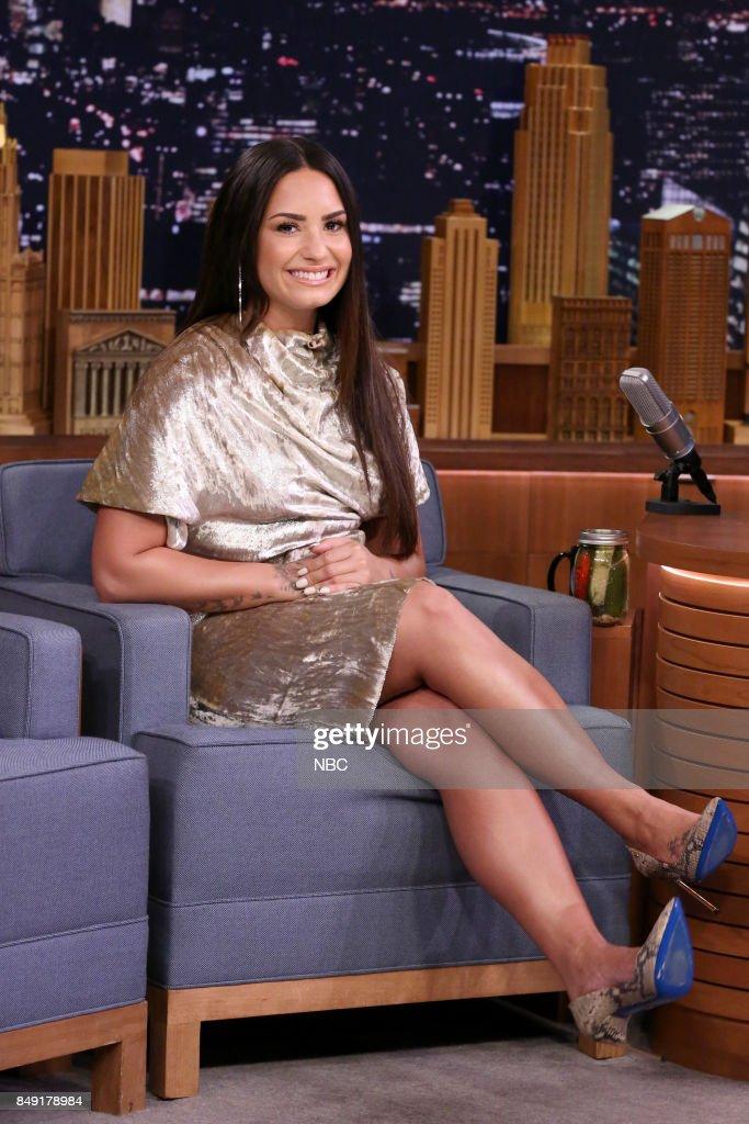 Singer Demi Lovato During An Interview On September Eight