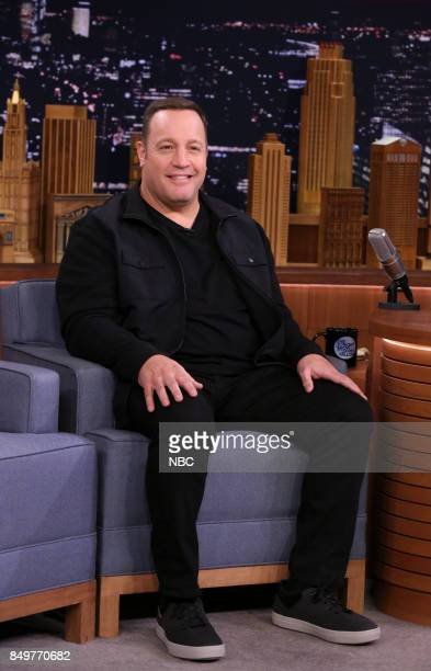 Actor Kevin James during an interview on September 19 2017