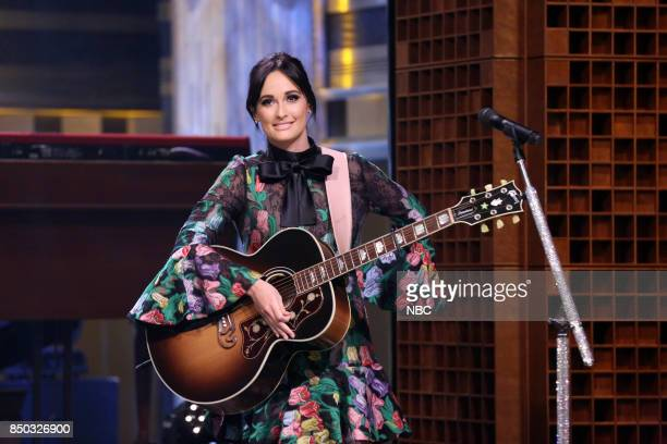 Musical Guest Kacey Musgraves performs Drinkin' Problem/Merry Go Round/Don't Bring Me Down on September 20 2017