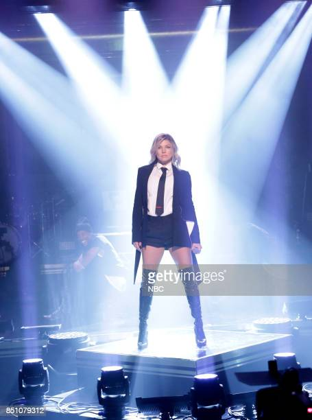 Musical Guest Fergie performs on September 21 2017