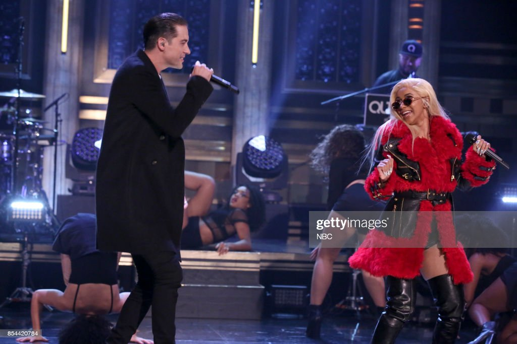 Musical Guest G-Eazy performs 'No Limit' featuring Cardi B on September 26, 2017 --