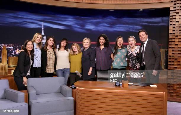 The Tonight Show Writers Albertina Rizzo Becky Krause Caroline Eppright Marina Cockenberg Jo Firestone Hillary Rodham Clinton Jasmine Pierce Taryn...