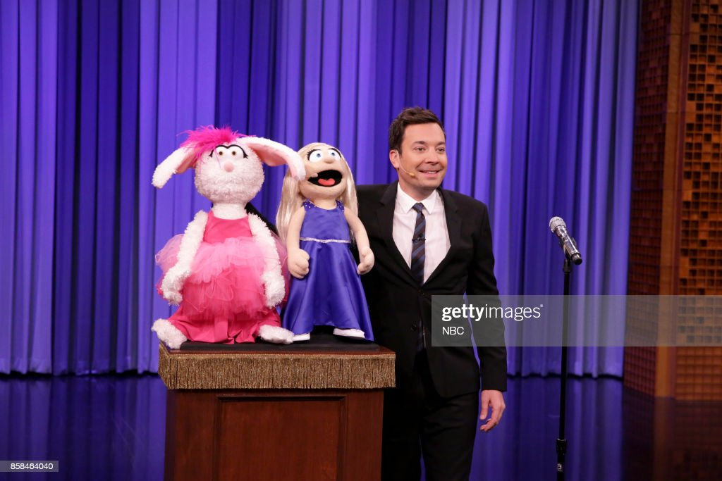 Jimmy Fallon during 'Lip Sync Battle' on October 6, 2017 --