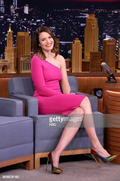 Actress Mandy Moore on October 10 2017