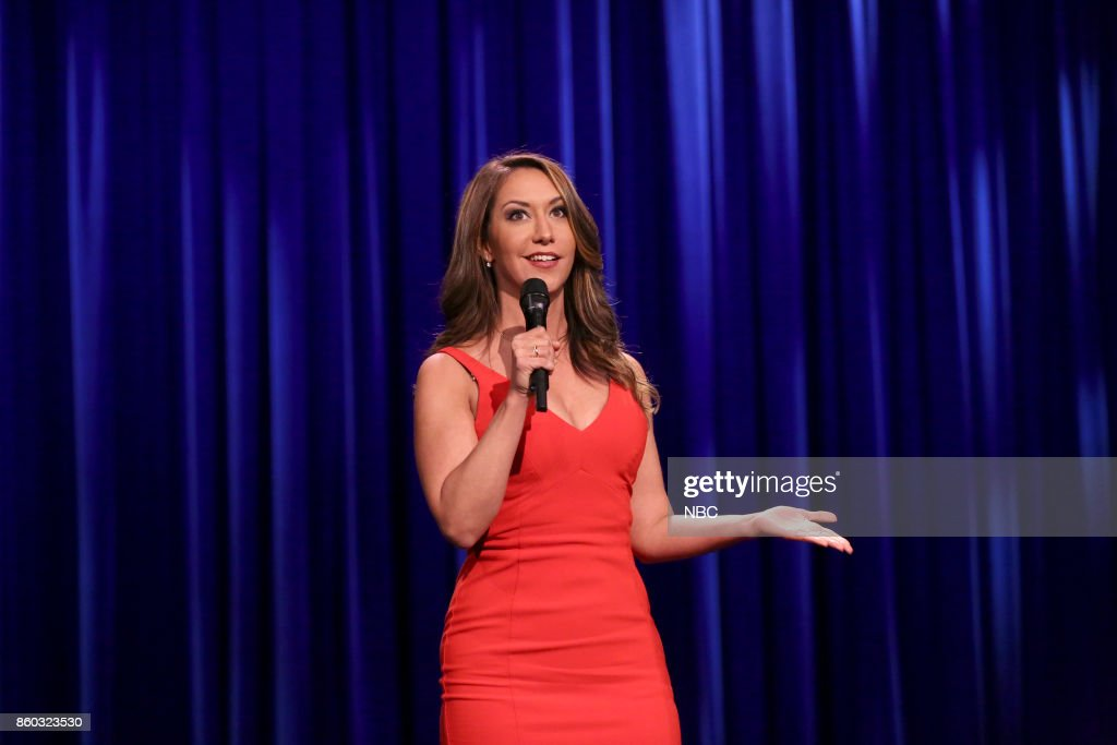 Comedian Rachel Feinstein performs on October 11, 2017 --