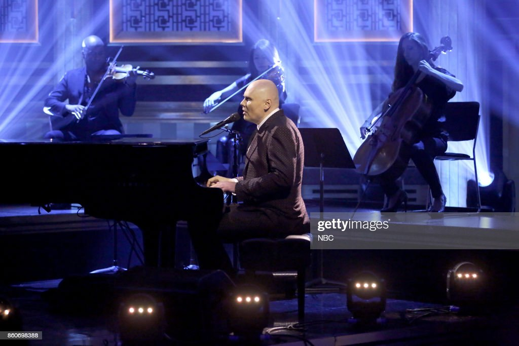 Musical Guest William Patrick Corgan performs 'Aeronaut' on October 12, 2017 --