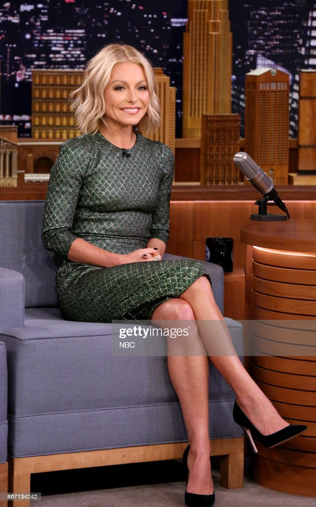 "NBC's ""Tonight Show Starring Jimmy Fallon"" With Kelly Ripa, Jim Jefferies, Cole Swindell, Sit-In: Stokley"