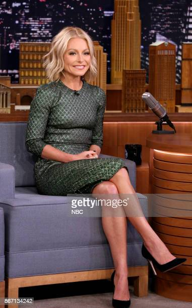 Kelly Ripa during an interview on October 26 2017