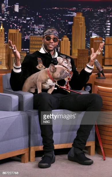 2 Chainz during an interview on October 27 2017