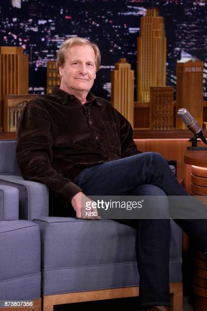 Actor Jeff Daniels during an interview on November 13 2017