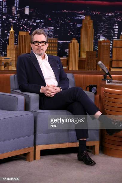 Actor Gary Oldman during an interview on November 15 2017