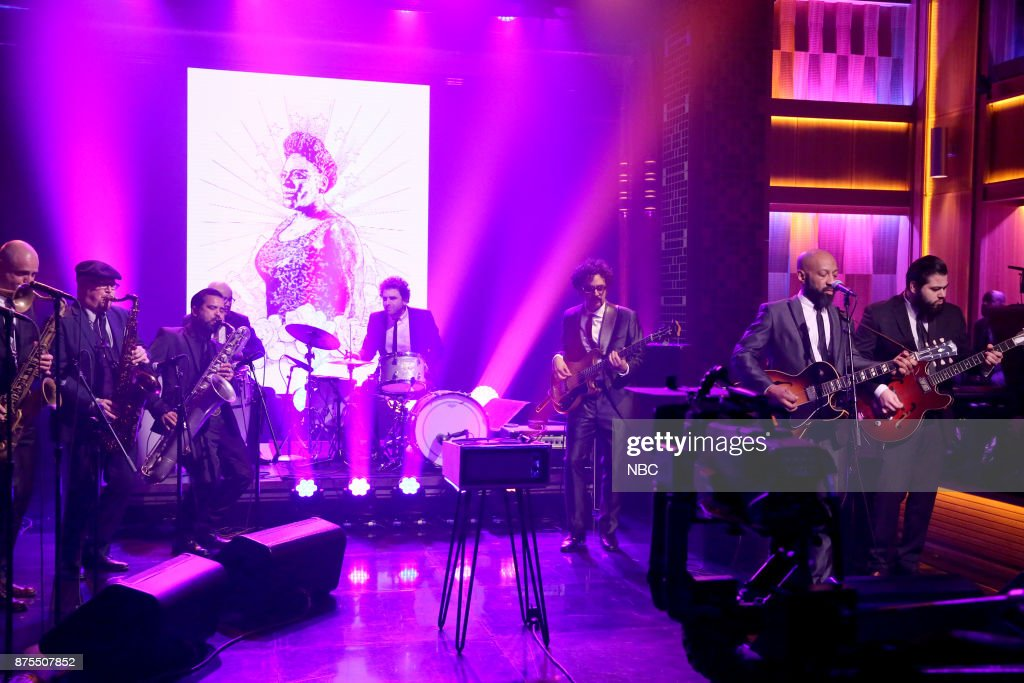 The Dap Kings and The Roots perform 'A Tribute to Sharon Jones' on November 17, 2017 --