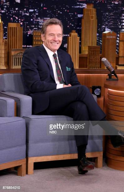 Actor Bryan Cranston during an interview on November 20 2017