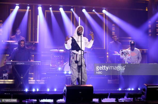 Musical Guest Brent Faiyaz performs Crew on November 20 2017