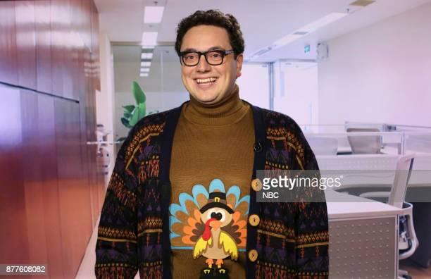Arthur Meyer as 'Yeah No Yeah Guy Thanksgiving' on November 22 2017