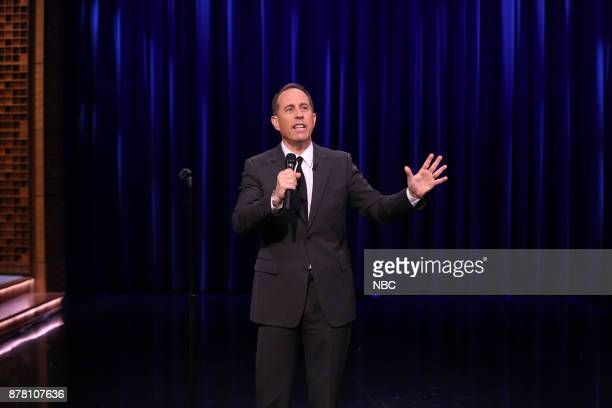Comedian Jerry Seinfeld during 'Standup Battle' on November 23 2017