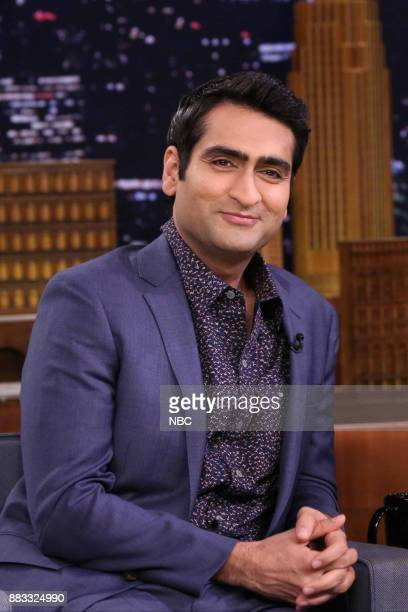 Actor Kumail Nanjiani during an interview on November 30 2017