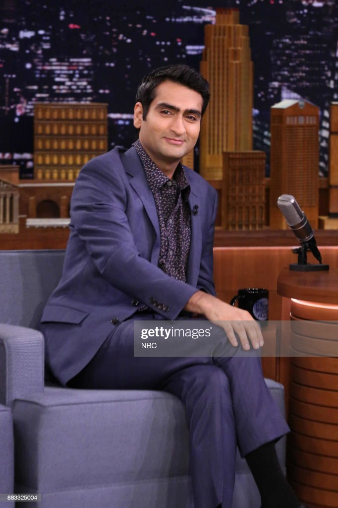 Actor Kumail Nanjiani during an interview on November 30, 2017 --