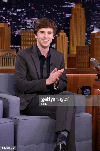 Actor Freddie Highmore on December 1 2017