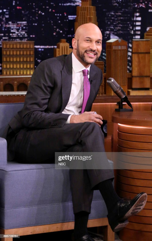 Comedian Keegan-Michael Key during an interview on December 4, 2017 --